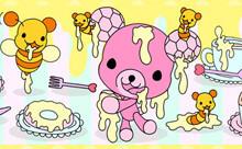 ハチミツ好きクマのハニベア